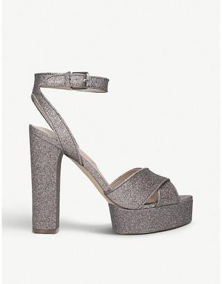 Aldo Glyndwr glitter block heels