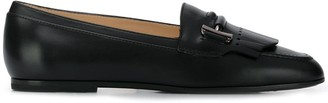 Tod's Pointed Toe Loafers