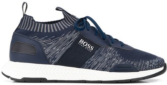 HUGO BOSS Knitted Sock Low-Top Sneakers