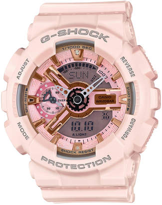 G-Shock Women Analog-Digital Light Pink Bracelet Watch 49x46mm GMAS110MP-4A1