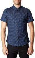 7 Diamonds Best of Times Trim Fit Short Sleeve Sport Shirt