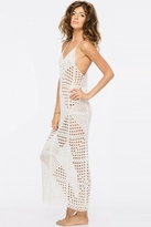 Indah Syra Crochet Maxi in Ivory