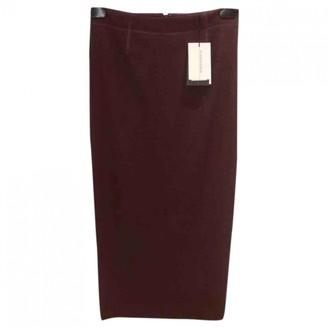 By Malene Birger Burgundy Wool Skirts