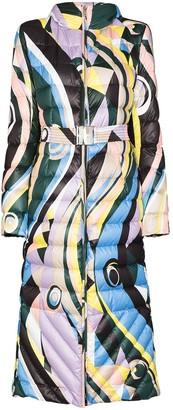 Emilio Pucci Occhi print coat