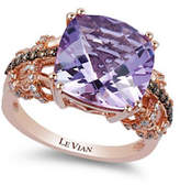 Le Vian Cotton Candy Amethyst 14K Rose Gold Quartz Ring