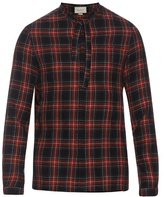 Gucci Cambridge Cotton And Wool-blend Tartan Shirt
