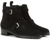 Tabitha Simmons Aggy Shearling-lined Suede Ankle Boots