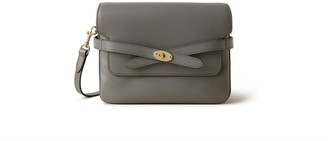 Mulberry Belted Bayswater Satchel Charcoal Silky Calf