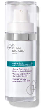 Dr. Pierre Ricaud Anti-Wrinkle + Anti-Imperfections Wrinkle and Blemish Corrector Cream 30ml