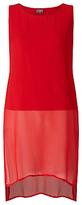 Phase Eight Clara Tabard Tunic Dress, Carmen Red