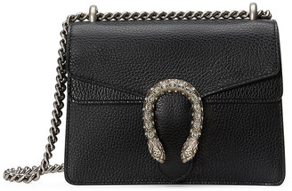 Gucci Dionysus Shoulder Mini Bag in Black & Black Diamond | FWRD