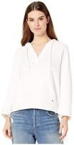 Roxy Sun Beats Down Pullover Sweatshirt (Snow White) Women's Clothing