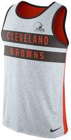 Nike Men's Cleveland Browns Stripe Tri Tank