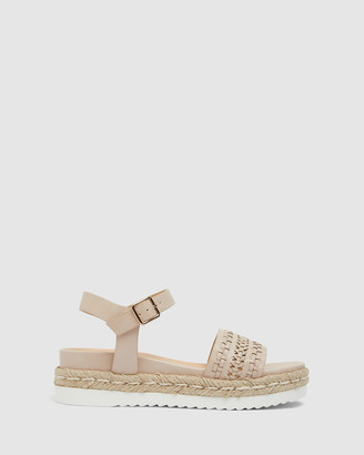 Ravella - Women's Nude Flat Sandals - Derek - Size One Size, 41 at The Iconic