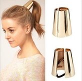 WeMore(TM) New fashion punk unique desine metal accessories hair rope high 4.2CM
