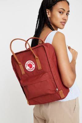 Fjallraven Kanken Ox Red Backpack - red at Urban Outfitters