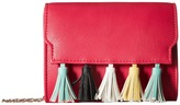Jessica McClintock Katie Tassel Shoulder Bag Shoulder Handbags