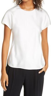 Club Monaco Satin T-Shirt