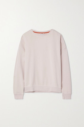 The Upside Alena Cotton-jersey Sweatshirt - Pink