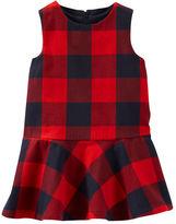 Osh Kosh 2-Piece Buffalo Check Dress