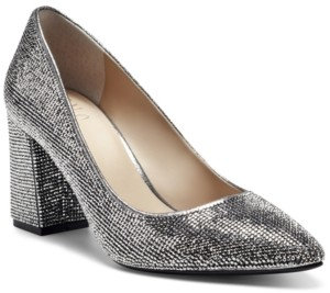 INC International Concepts Inc Bahira Block-Heel Pumps, Created for Macy's Women's Shoes