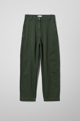 Weekday Tami Trousers - Green