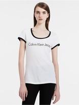 Calvin Klein Logo Ringer T-Shirt
