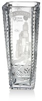 Waterford Times Square Engraved Scene Vase