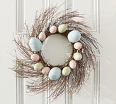 Pottery Barn Pussy Willow & Egg Wreath