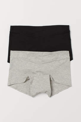 H&M MAMA 2-pack shortie briefs