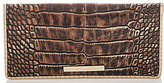 Brahmin Milan Collection Ady Crocodile-Embossed Wallet