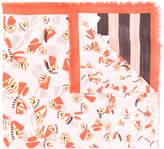 Fendi print motif scarf