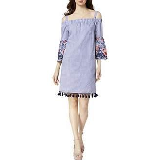 Jessica Howard Women's Off Shoulder Bell Sleeve A-Line Dress
