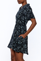 Knot Sisters Floral Button-Down Dress