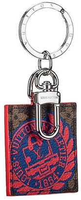 One Kings Lane Vintage Louis Vuitton Limited Edition Bag Charm - Vintage Lux - blue/red/silver/brown