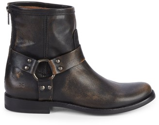 Frye Phillip Harness Leather Boots