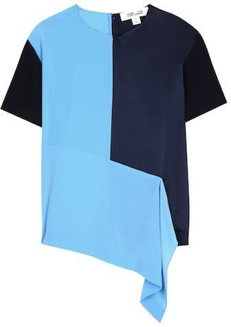Diane von Furstenberg Silk T-shirt