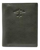 Fossil Leather Bi-Fold Passport Case
