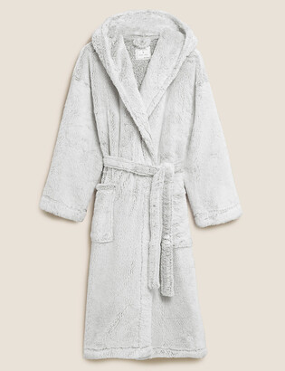 Marks and Spencer Hooded Long Dressing Gown