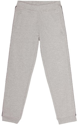 Little Marc Jacobs Cotton jersey trackpants