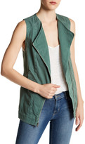 Junk Food Clothing Woven Moto Vest