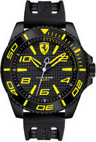 Ferrari Scuderia Men's Xx Kers Black Silicone Strap Watch 50mm 830307