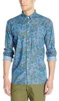 Barney Cools Men's Montana Long Sleeve Button Down Shirt