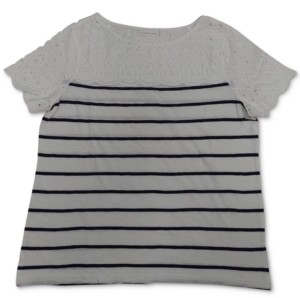 Charter Club Striped T-Shirt, Created for Macy's
