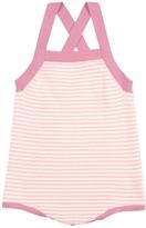 Nui Gladys Striped Bodysuit - Pink, Size 3-6m