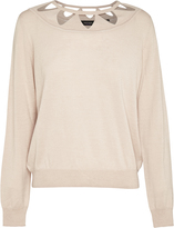 Oxford Cassandra Cut Out Knit Nude X