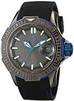Adee Kaye Men's AK7752-M GRAND MOND - G2 COLLECTION Analog Display Japanese Quartz Black Watch