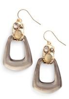 Alexis Bittar Women's Lucite Smoky Quartz Drop Earrings