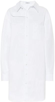 Balenciaga Cotton-poplin dress
