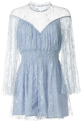 Alice McCall Magicians Daughter embroidered playsuit